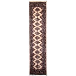Handmade Bokhara Wool Runner (Pakistan) - 2'9 x 9'5