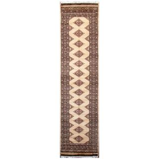 Handmade Bokhara Wool Runner (Pakistan) - 2'7 x 9'8
