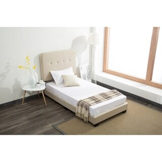 Helene Upholstered Twin Kids Bed In a Box