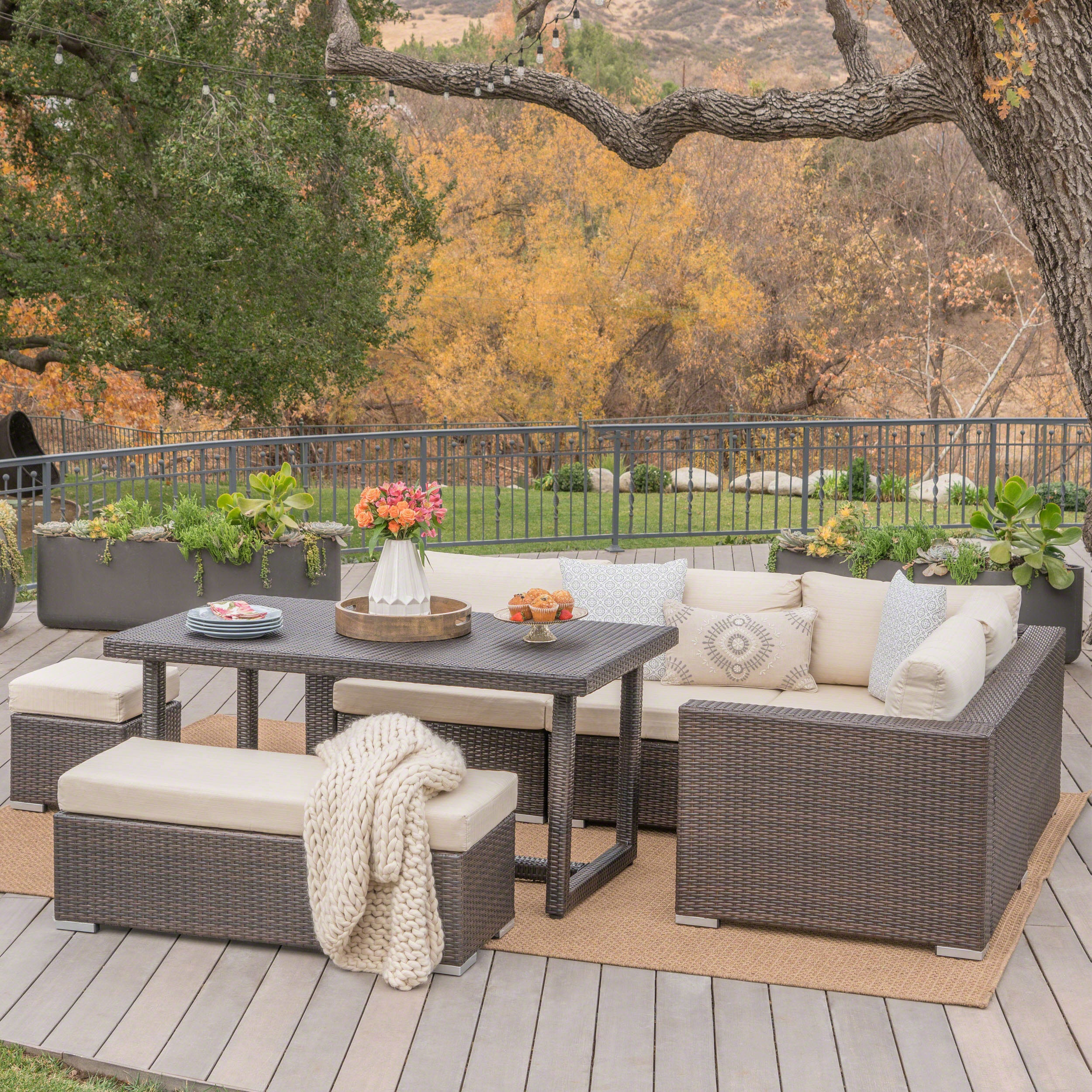 Buy Outdoor Dining Sets Online At Overstock.com | Our Best Patio Furniture  Deals