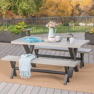 Concrete Patio Furniture - Outdoor Seating & Dining For Less ...