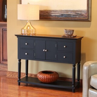 Taylor Wood 4-drawer Console Table