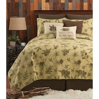 Sierra Retreat Rustic Quilt Set