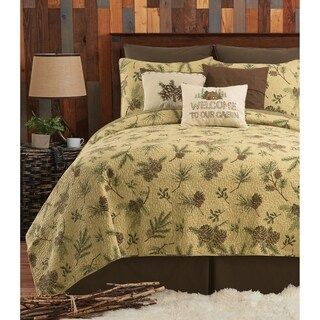 Sierra Retreat Rustic Quilt Set