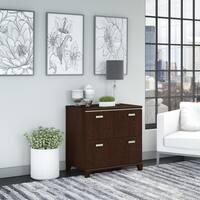 Bush Furniture Tuxedo 2 Drawer Lateral File Cabinet