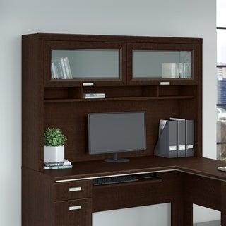 Bush Furniture Tuxedo Hutch for L Shaped Desk