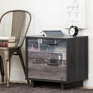 South Shore Fynn 2-Drawer Nightstand