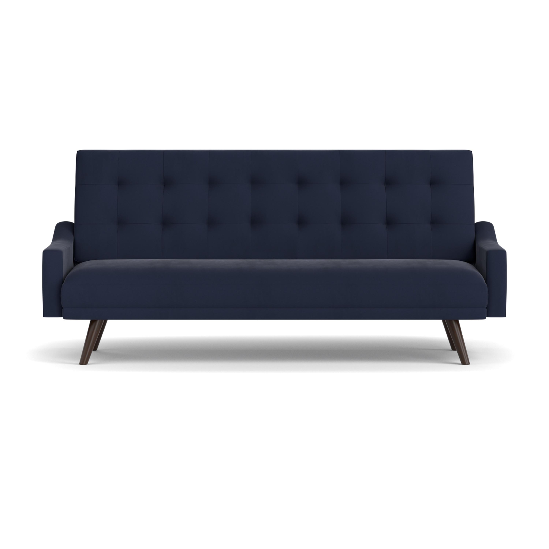 Sleeper Sofa Navy Blue: Navy Blue Velvet Sleeper Sofa