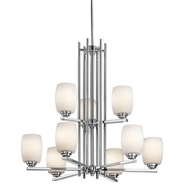 Kichler Lighting Eileen Collection 9-light Chrome LED Chandelier