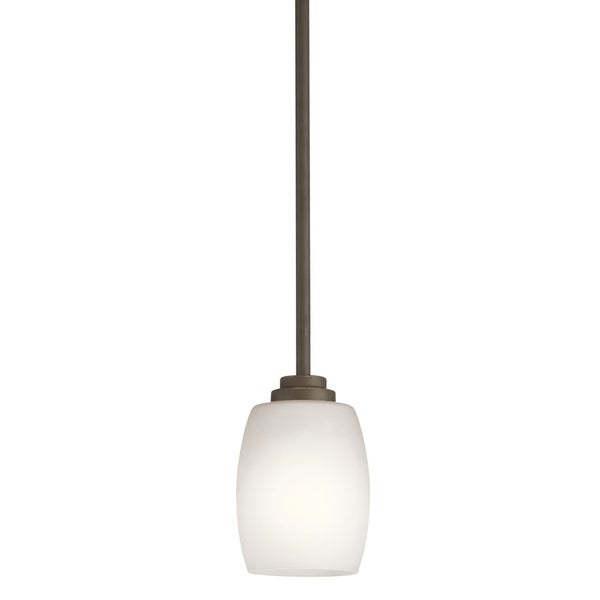 Kichler Lighting Eileen Collection 1-light Olde Bronze Mini Pendant