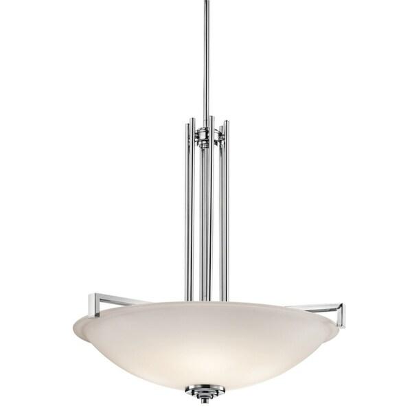 Kichler Lighting Eileen Collection 4-light Chrome Inverted Pendant