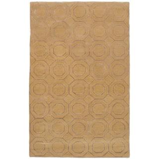 eCarpetGallery Hand-Tufted Kasbah Wool Art Silk Rug - 5' x 8'