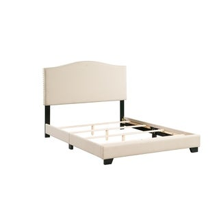 Dione Upholstered Platform Bed In A Box