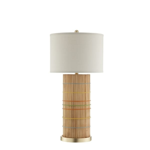 Catalina Lighting 20626-001 Fritz Table Lamp - 16 x 16 x 32