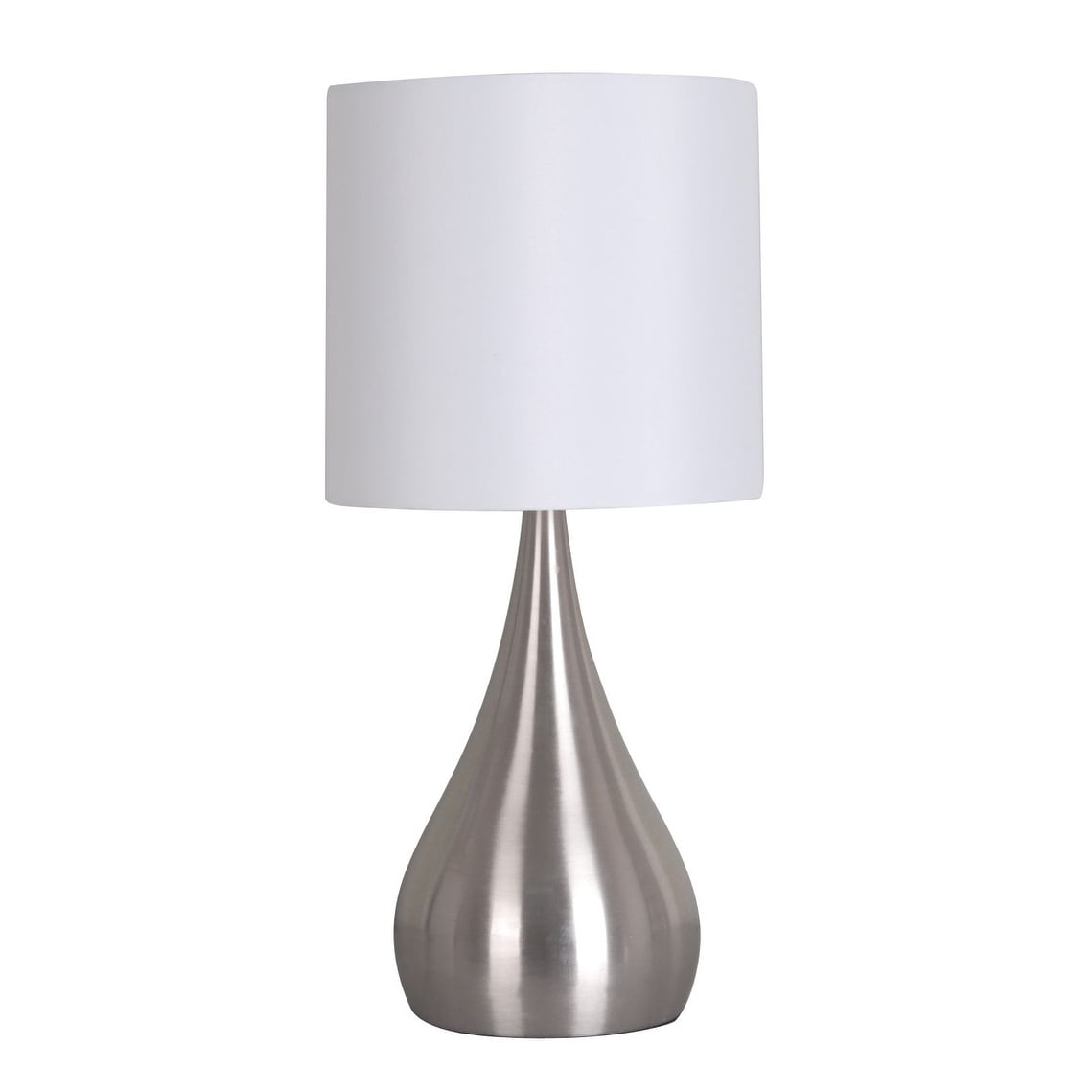 Laurel Creek Jay 18.75-inch White Shade Table Lamp
