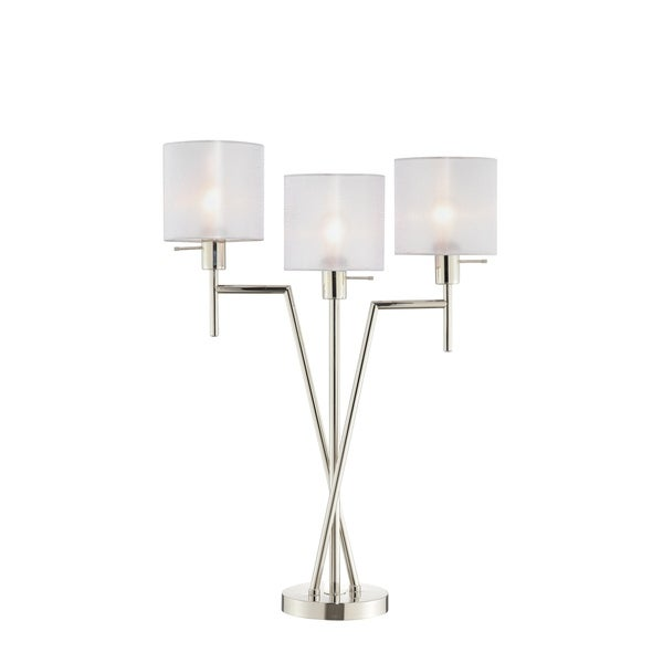 Catalina Lighting 20598-001 Sutton Table Lamp - 8.25 x 22.75 x 32