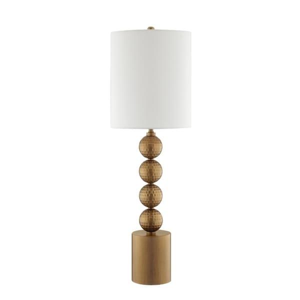 Catalina Lighting 20583-001 Isabella Buffet Lamp - 12 x 12 x 38