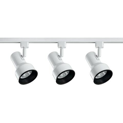 Catalina Lighting Medford 3-Light Step Liner Track Lighting Kit, 13925-007 White