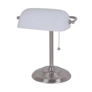 Laurel Creek Calvin Franklin 13.5-inch Banker's Desk Lamp