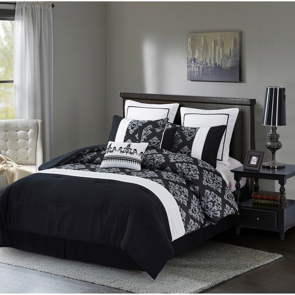 Fashion Street Alexandria 8-piece Comforter Set