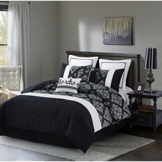 Fashion Street Alexandria 8-piece Comforter Set
