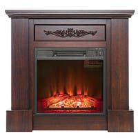 Ameriwood Home Bruxton Electric Fireplace Free Shipping