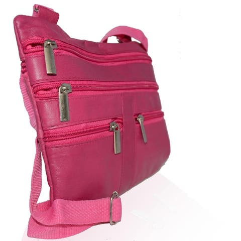 AFONiE Fashion Genuine Leather Crossbody Handbag