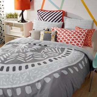 Scribble Medallion 3-piece Reversible Comforter Set