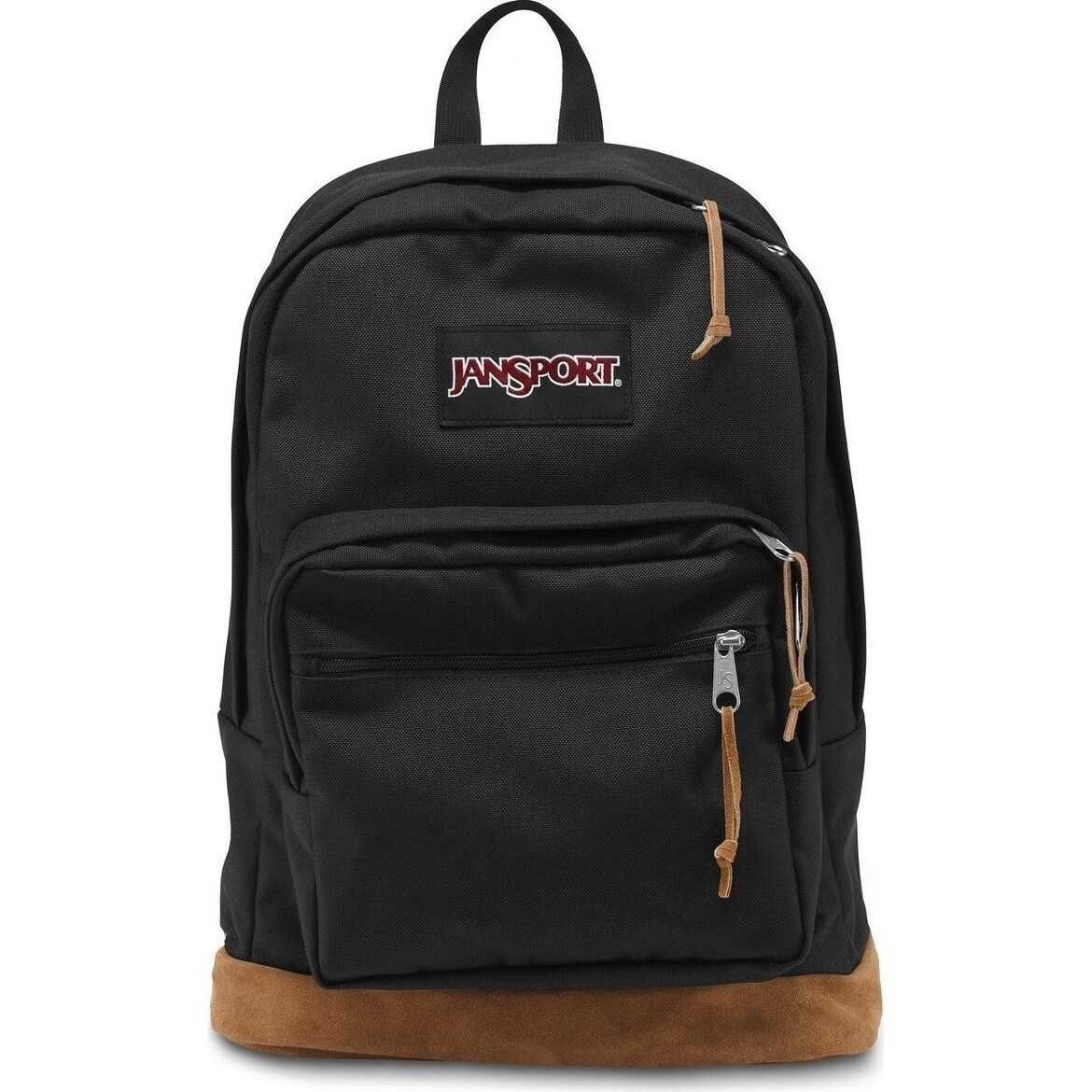 JANSPORT Right Pack Black, Size 7.1 - 10 Inches