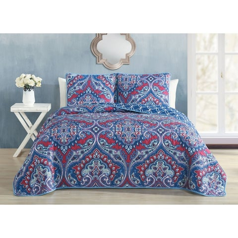 Avondale Manor Cantara 3-piece Quilt Set