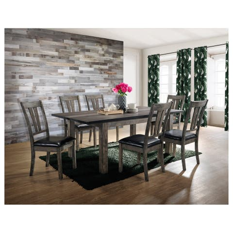 Picket House Furnishings Grayson Dining with Padded Seats 7PC Set