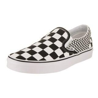 Vans Unisex Classic Slip-On (Mix Checkerboard) Skate Shoe