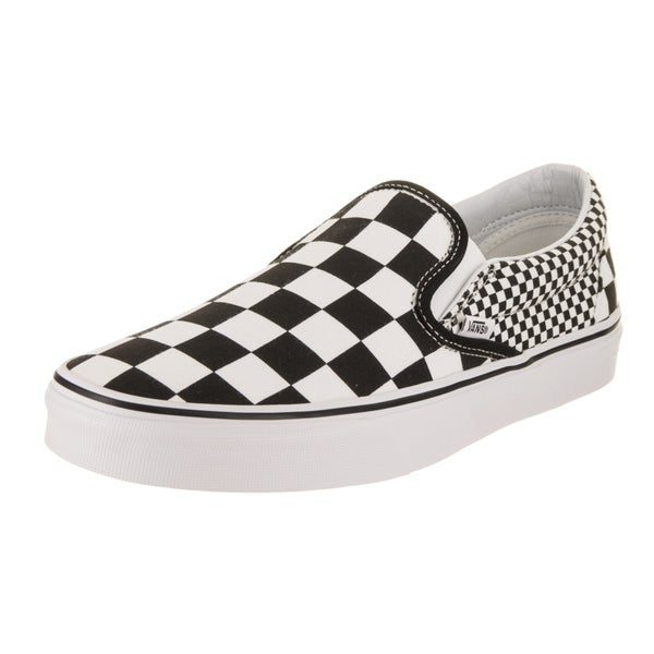 Shop Vans Unisex Classic Slip-On (Mix Checkerboard) Skate Shoe ... b9cfb0d6f