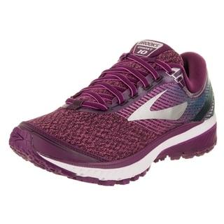 Brooks Women S Adrenaline Gts 16 Purple Wide Running Shoe