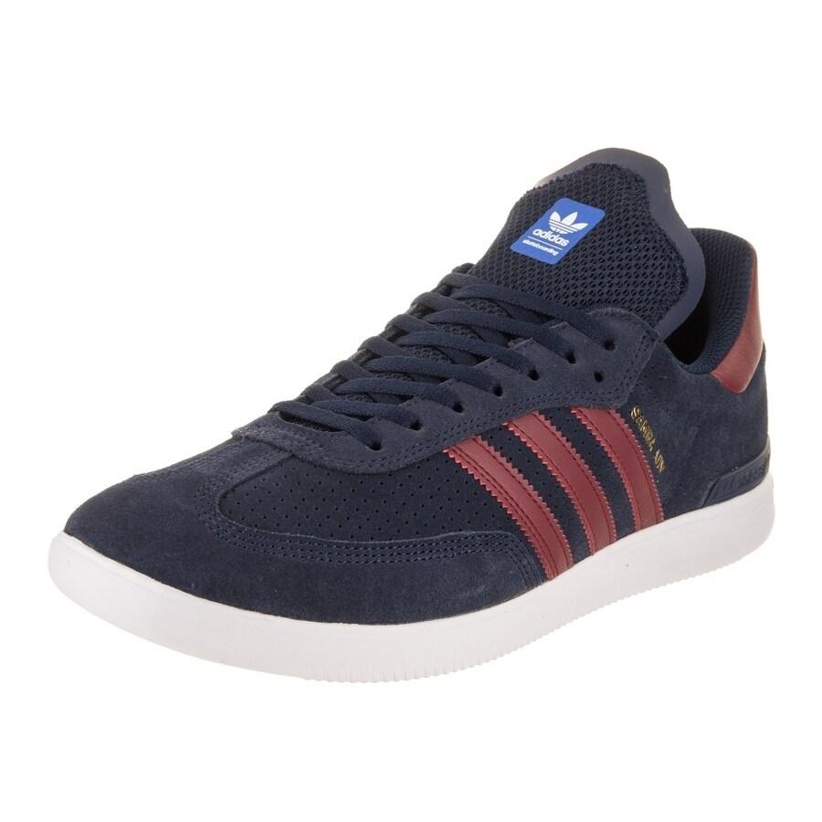 Adidas Men's Samba Adv Skate Shoe (11), Blue (Suede)