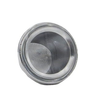 DIY Make Your Own Knobs for Drawer, Door or Cabinets , Clear Glass Cabochon, Glass & Knob Base, 1.5X Magnify