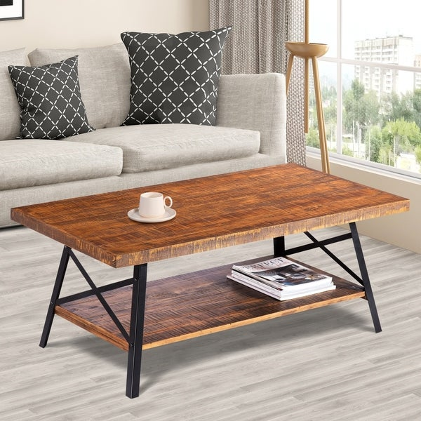 Shop Sleeplanner Rustic Cocktail Table/ Coffee Table