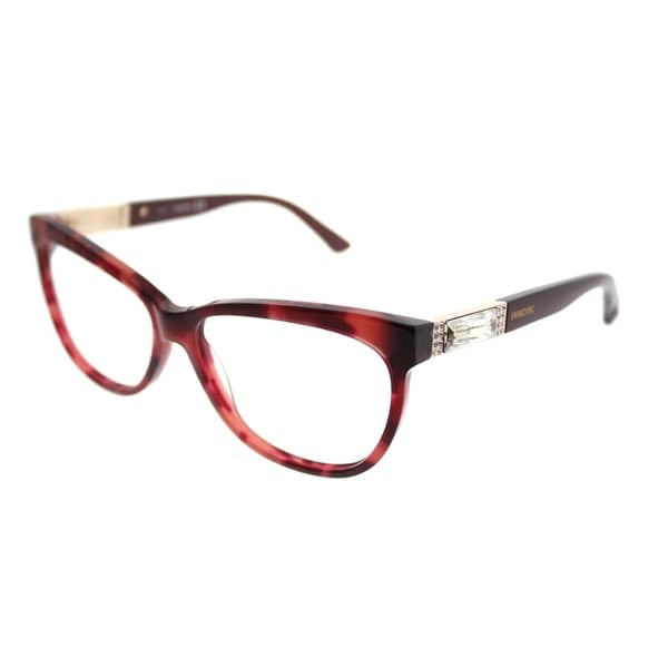 86180ebe2252 Swarovski Cat-Eye SK 5091 Doris 056 Woman Red Havana Frame Eyeglasses