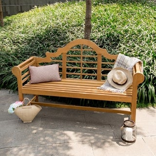 Link to Cambridge Casual Lutyens 5ft Teak Bench Similar Items in Patio Furniture