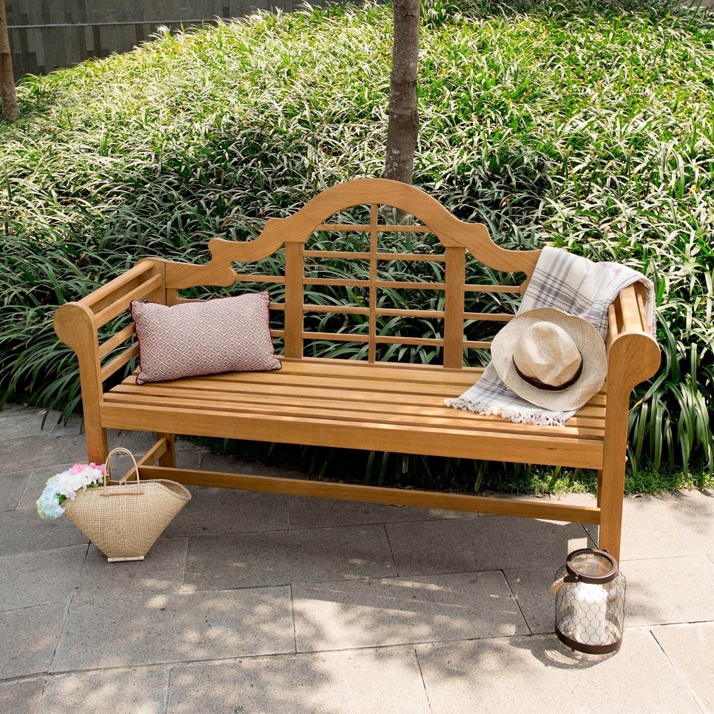 Cambridge Casual Teak 5' Lutyen's Bench (Garden Bench - I...