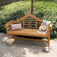 Cambridge Casual Lutyens 5ft Teak Bench