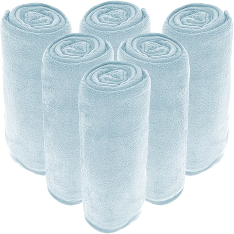 Bare Home Wholesale Microplush Blankets, Fleece Bed Blanket Bulk Pack