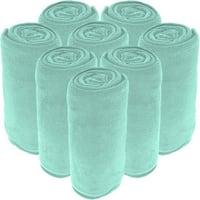 Microplush Blankets - Ultra-Soft Velvet - Luxurious Fuzzy Fleece Fur - All Season Premium Bed Blanket - Wholesale Bulk Pack