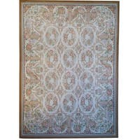 "Pasargad Aubusson Hand-Woven New Zealand Wool Rug (7' 9"" X 10' 1"")"