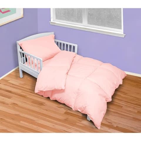 St. James Home 4 Piece Cotton Toddler Comforter Set