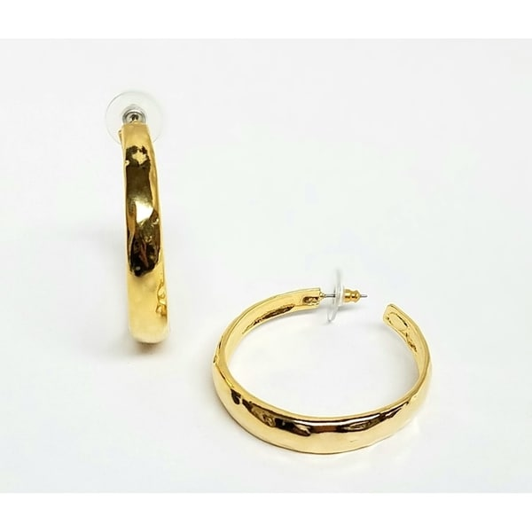 Kenneth Jay Lane Gold Hoop Earrings Gold fB5ZJftumo