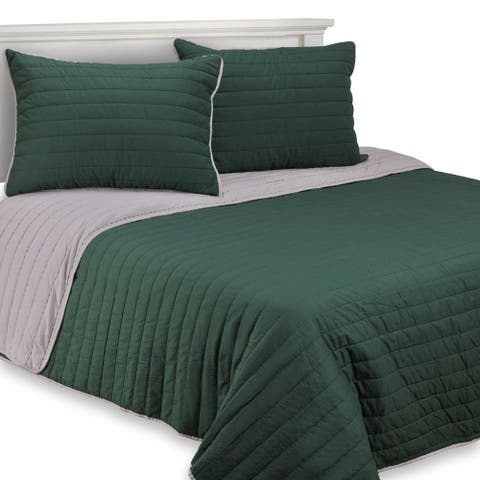 Kotter Home Charlotte Cotton Quilt Set