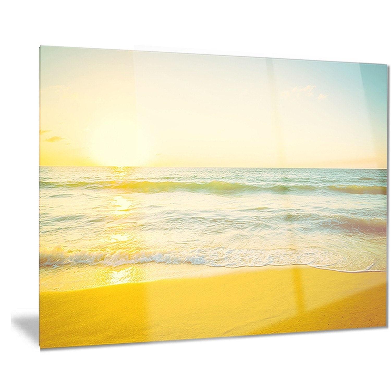 Stunning Wall Art Beach Scenes Images - The Wall Art Decorations ...