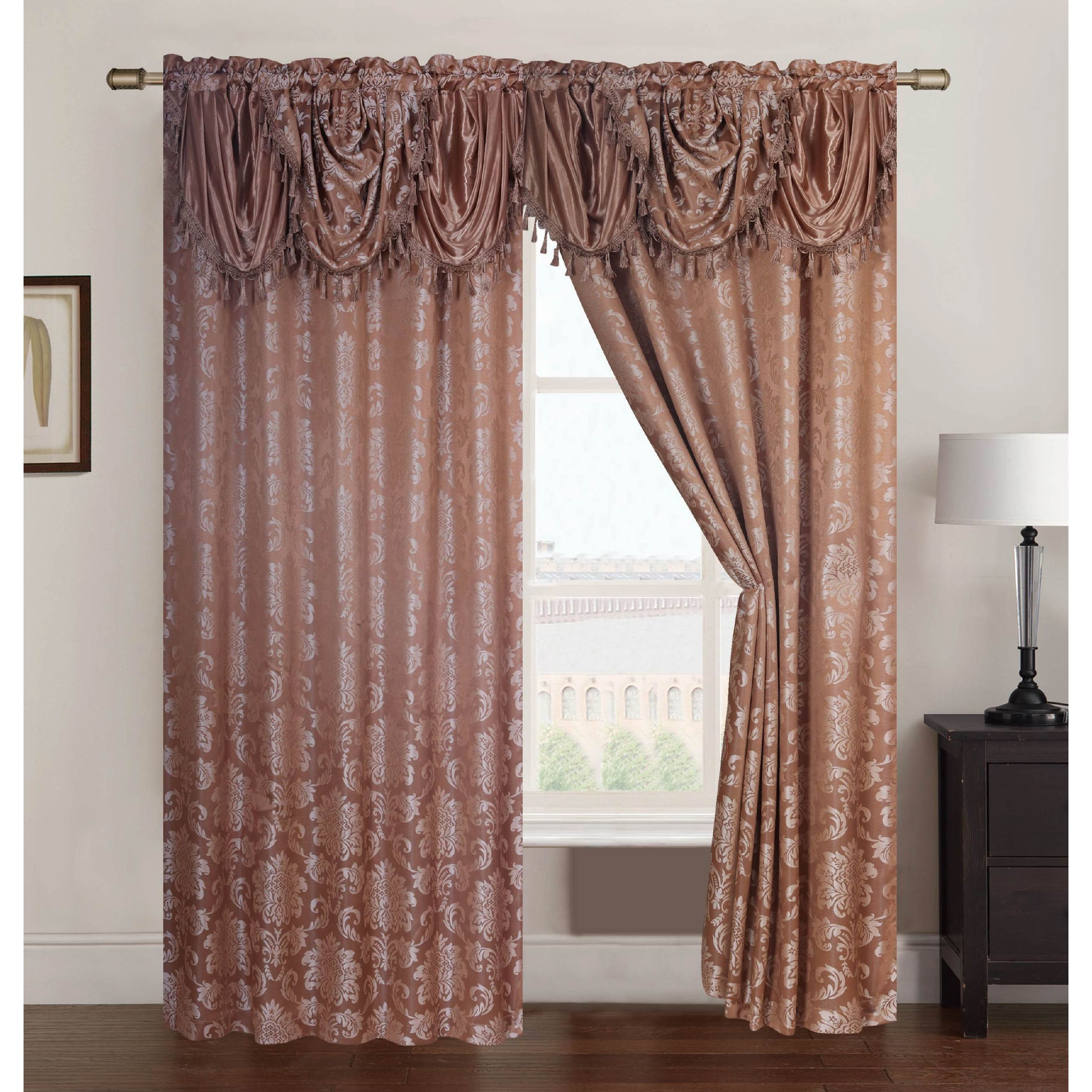 blackout maddie single grommet black treatments grommets faux color solid silk window panel with curtain