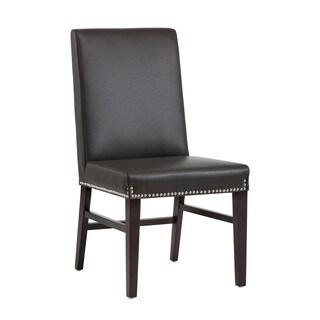 5West Brooke Upholstered Nailhead Side Chairs (Set of 2)